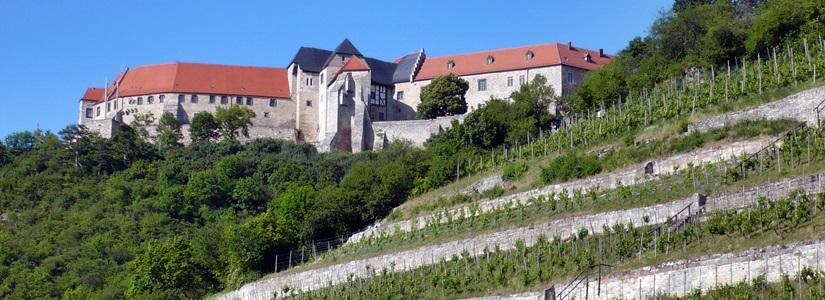 Saale-Unstrut-Rergion - die neuenburg in Freyburg