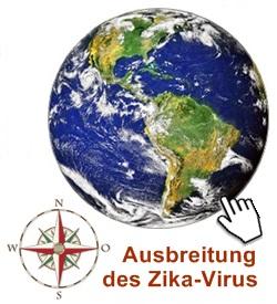 Zika-Virus-Verbreitung