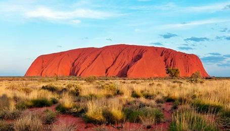 Australiens heiliger Berg - der Uluru oder Ayers Rock